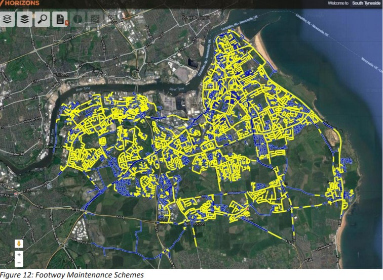 South Tyneside footpath maintenance schemes