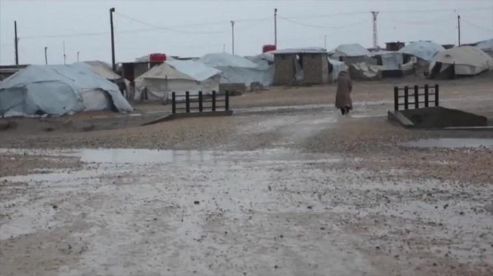 Inside Roj Camp, north west Syria