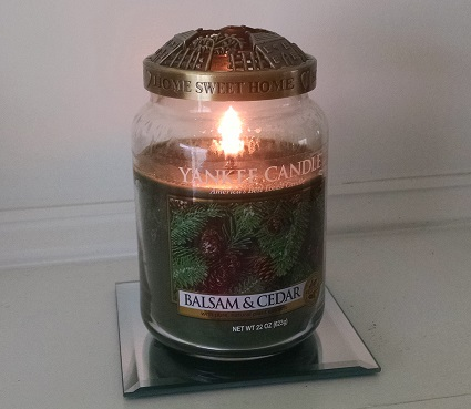 Yankee Candle Balsam and Cedar Jar