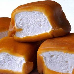 Caramel Dipped Marshmallows