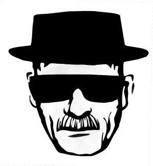 Heisenberg Decals Black