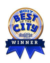 2017 best of the city award.