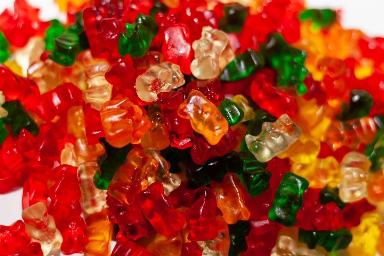 Weed infused gummy bears