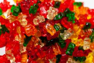 Weed infused gummy bears