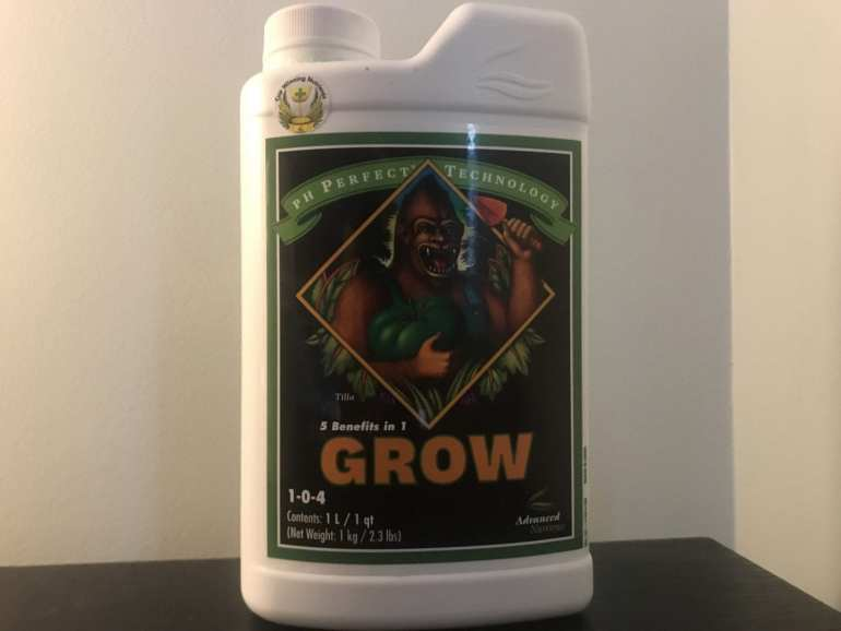 Advanced Nutrients grow. Some of the best cannabis plant fertilizer. For growing cannabis indoors