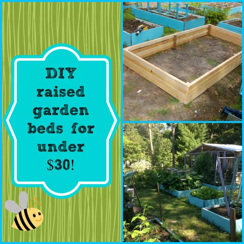 Diy Super Easy Raised Garden Bed For Under 30