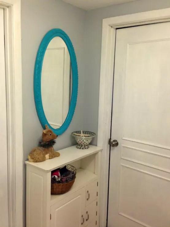 Bathroom Door Makeover 1970s interior door makeover