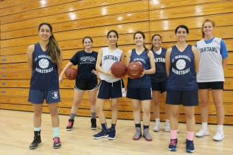 The St. Margaret's girls basketball team is looking to capitalize on its size and athleticism this season. Photo: Steve Breazeale