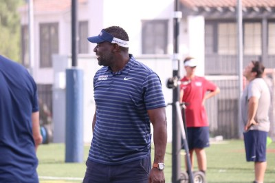 Former NFL linebacker Kory Minor takes over for his first season as head coach of St. Margaret's. Photo: Zach Cavanagh