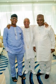 Baba Ijebu Unites Son, Ladi, with Dapo Abiodun