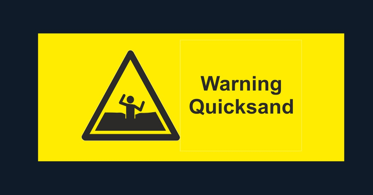 Do You Feel Stuck?  What we can learn from Quicksand
