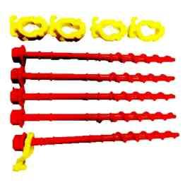 caravan accessories awning screw in pegs