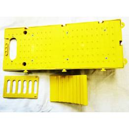 caravan accessories chock wheel levelling ramp