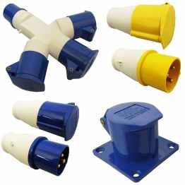 caravan accessories 16 amp splitter