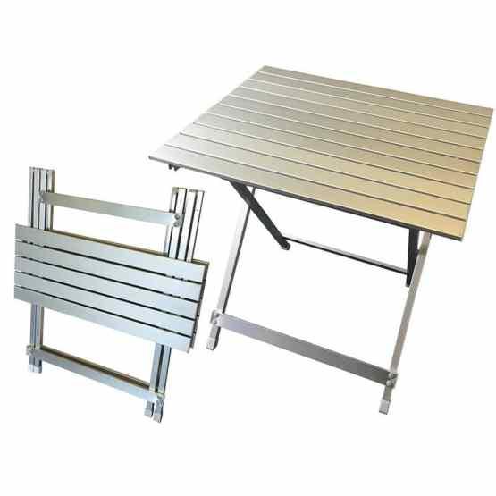 caravan accessories aluminium folding table