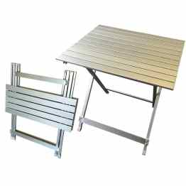 caravan accessories aluminium folding table