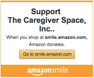 caregiver space amazon smile