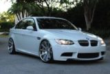 BMW M3 coupe with aftermarket aluminium alloy wheels (The Car Expert)