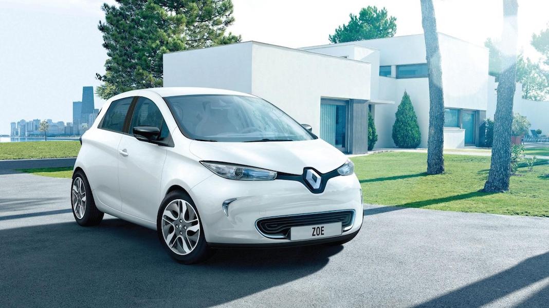 Renault ZOE electric vehicle
