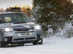 Seven tips for driving in snow