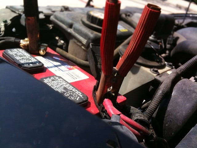 A flatt battery is a common car fault