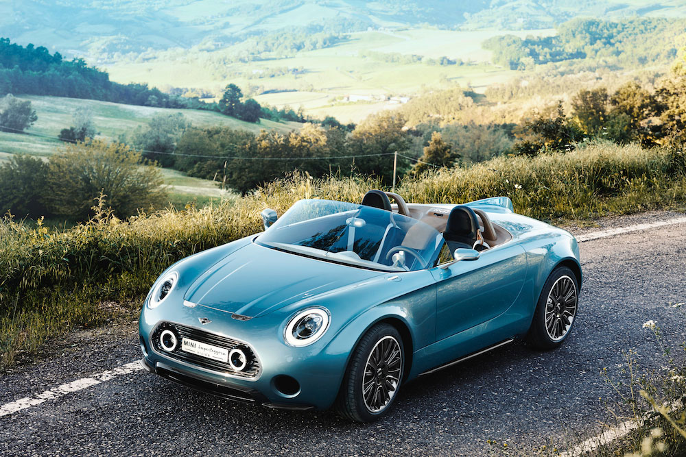 MINI Superleggera Vision 01 (The Car Expert, 2014)