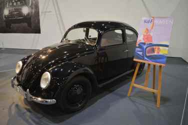An original KdF-wagen prototype, forerunner to the Volkswagen Type 1 (better known as the Beetle)