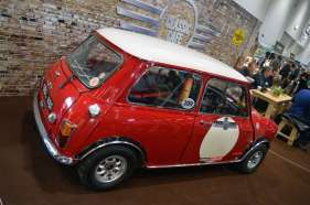 There were quite a few Minis on display at the 2015 London Classic Car Show