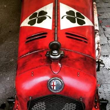 Beautifully original and unrestored Alfa Romeo 8C 2600 at the 73rd Goodwood Members' Meeting