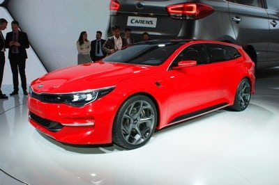 Kia Sportspace concept, Geneva Motor Show 2015