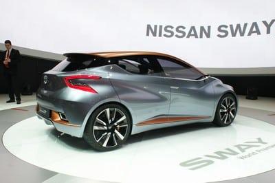 Nissan Sway concept, Geneva Motor Show 2015