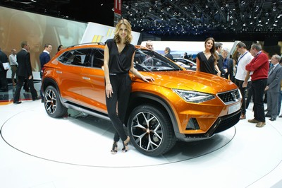 SEAT 20V20 concept, Geneva Motor Show 2015
