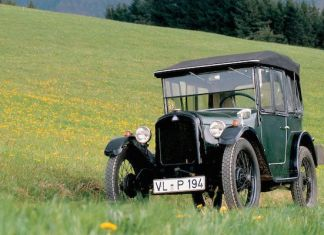 The Dixi 3/15PS - the car which launched BMW