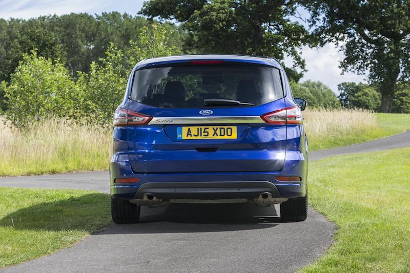Ford S-Max rear