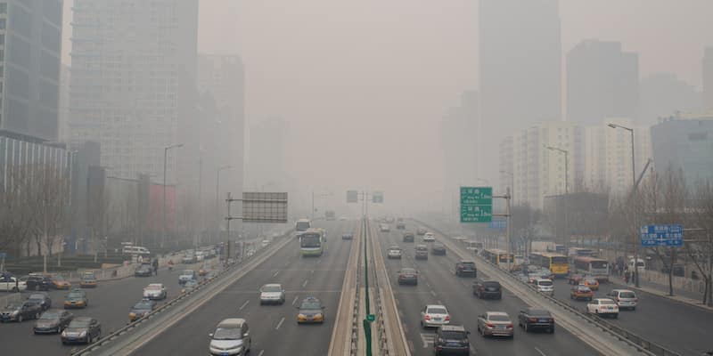 China is battling huge pollution and air quality problems in its cities