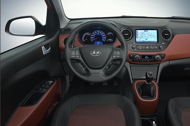 Touchscreen sat nav major addition to interior.