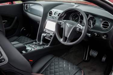 Bentley Continental GT Speed 2016 interior 02
