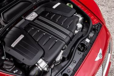 Bentley Continental GT Speed 2016 6.0-litre W12 engine