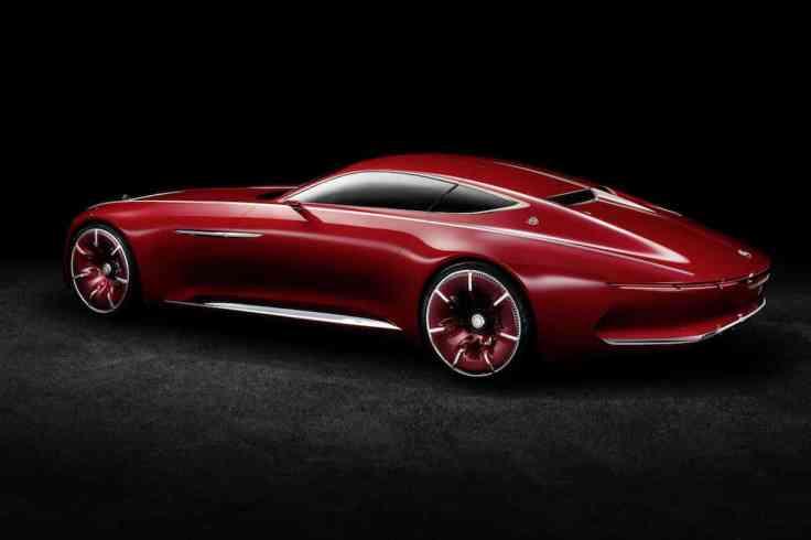 Vision Mercedes-Maybach 6 coupé 05