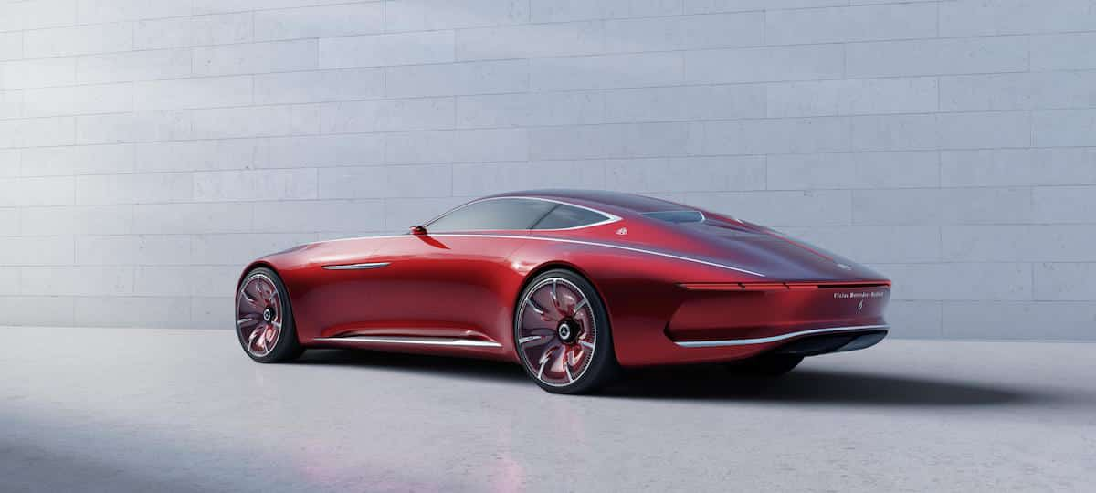 Vision Mercedes-Maybach 6 coupé 03