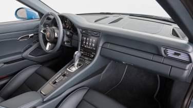 Porsche 911 Targa 4S Exclusive Design Edition interior