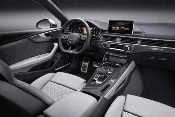 The new Audi A5 Sportback interior