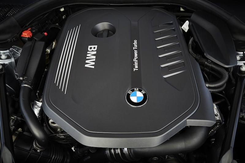 New BMW 5 Series engine