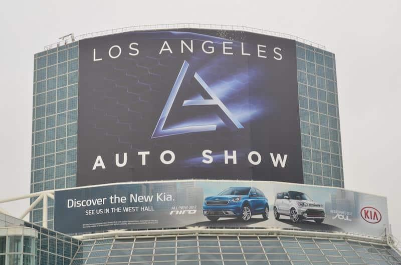 LA Auto Show entrance