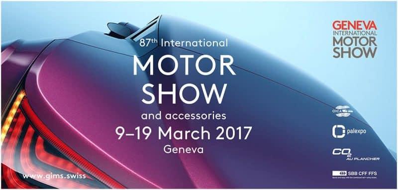 Geneva Motor Show 2017 poster