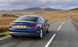 Audi-A5-rearonroad