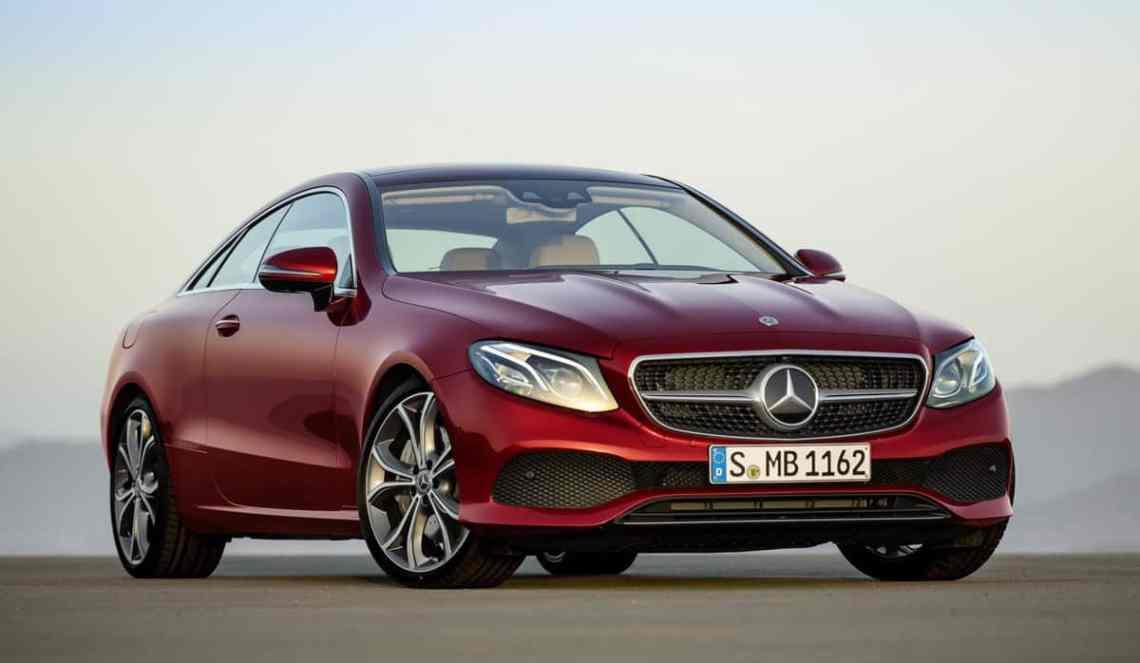 Mercedes-Benz-E-Class-Coupe-front34