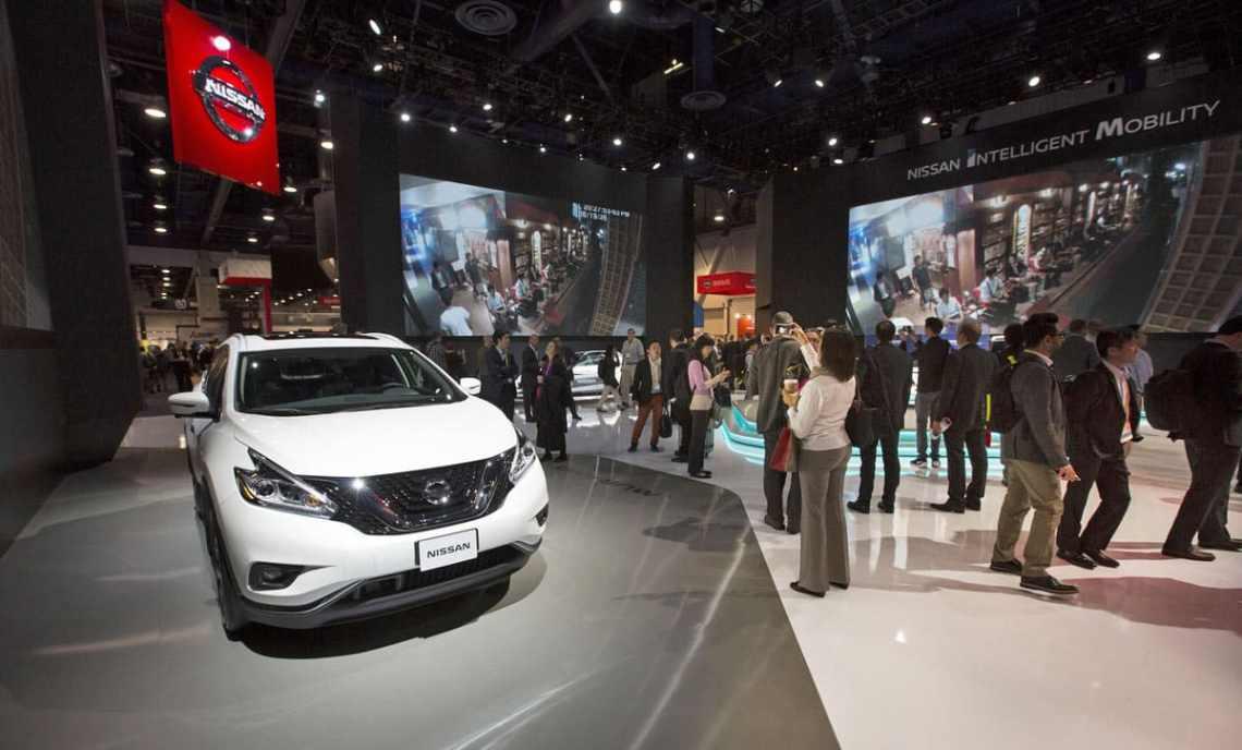 Nissan LEAF CES
