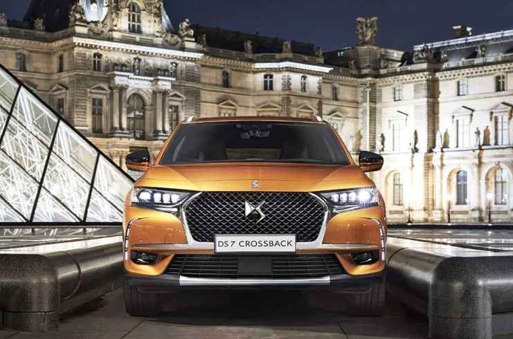 DS 7 Crossback front