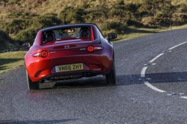 Mazda MX-5 RF on road 03